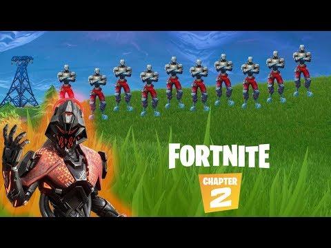 Solo VS Squads BOTS   Fortnite