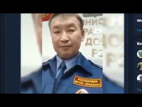 Призыв Виктора Хоржирова - офицера Росгвардии в Бурятии.