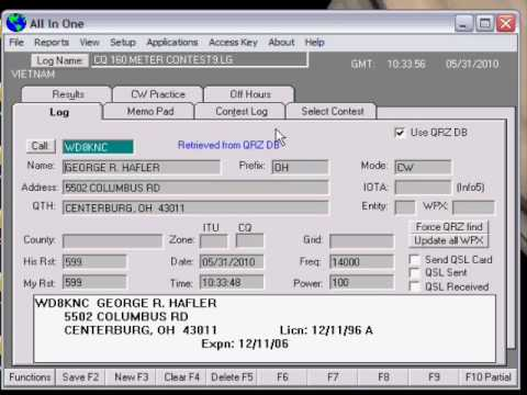 AIO and the QRZ database