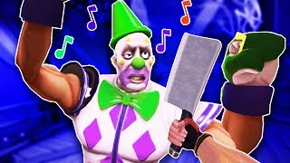 I Cleave These Creepy Clowns With a Giant Knife in Path of the Warrior VR!