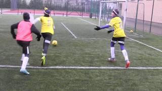 Cz3- Grana Sobota FC YellowU12 vs KS Talent BolesławiecU11-Sparing Kontrolny-Praca w Defensywie 3/3