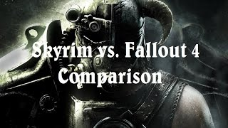 Skyrim vs. Fallout 4 Comparison (Graphics, Gameplay, Engine)