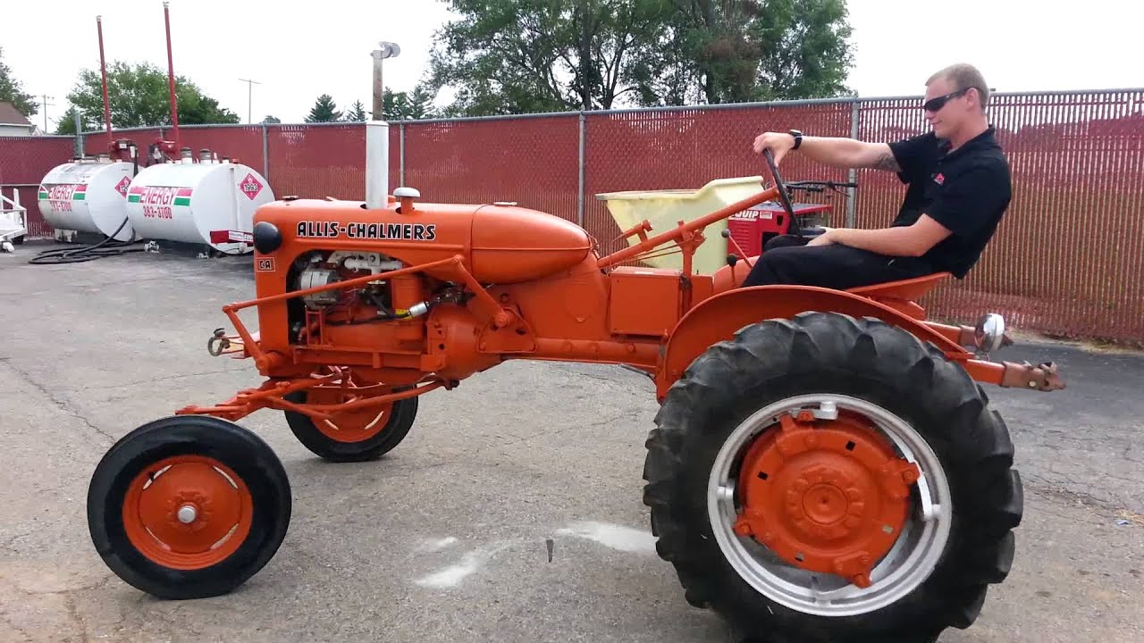 Allis Chalmers Ca Pimpin My Ride Windsor