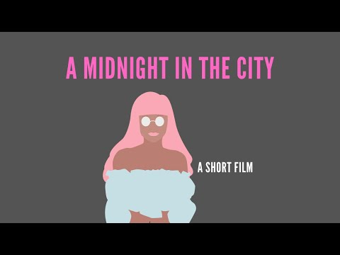 Artist Leni Smoragdova documentary short film: midnight in the city