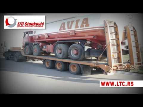 Oversize transport Serbia