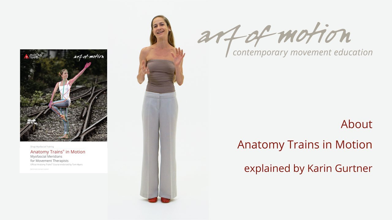 Anatomy Trains In Motion About The Training Course Youtube