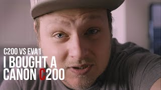 New Canon C200 and Panasonic EVA1 Cinema Cameras.  My Thoughts -in 4k