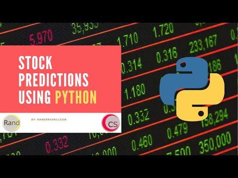 Build A Stock Prediction Program