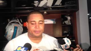 Miami Dolphins Left Tackle Jonathan Martin