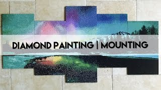 Diamond Painting - Mounting a 5 Panel