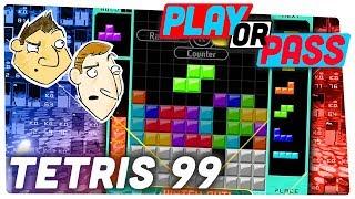 Tetris 99 Review - Play or Pass