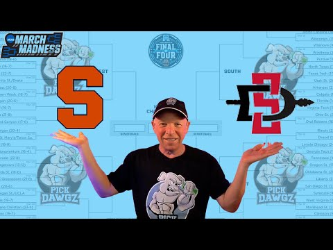 San Diego State vs Syracuse 3/19/21 Free College Basketball Pick and Prediction NCAA Tournament