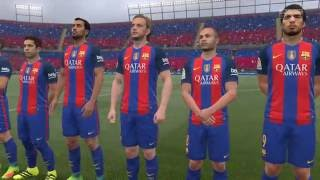 [PC] FIFA 17 - FC Barcelona vs Manchester United | Full Game (4k 60fps)
