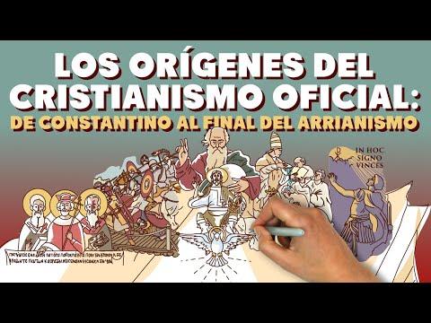 Los orígenes del Cristianismo Oficial: de Constantino al final del Arrianismo.