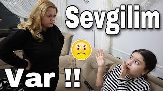 SEVGİLİM VAR ŞAKASI YAPTIM || Annem Çok Kızdı !!