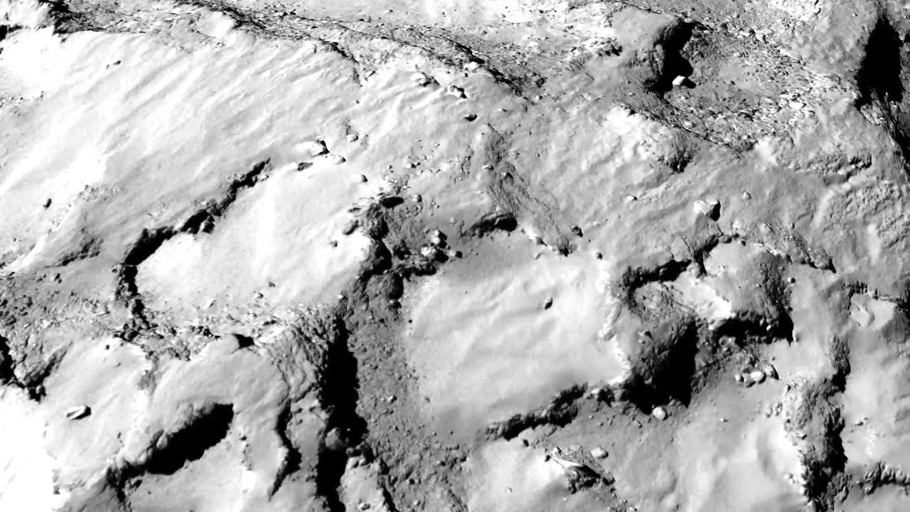 67P/ Churyumov - Gerasimenko. Philae landing site Agilkia ...