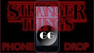 Stranger Things Phone Drop Meme