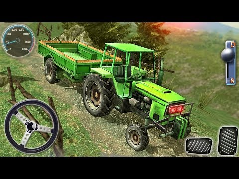 Off-Road 4x4 Hill Driver - Tractor Driving Mountain Сargo Simulator - Android GamePlay