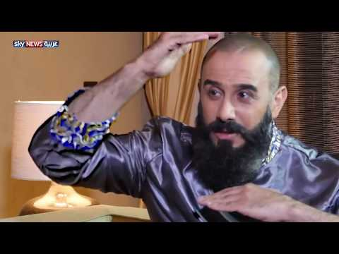 لقاء قصي خولى مع سكاى نيوز فى كواليس مسلسل هارون الرشيد  رمضان 2018  Kosai Khauli