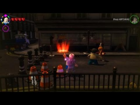LEGO Harry Potter Years 5-7 How To Unlock Dark Magic Character,Key Character,Strong Character
