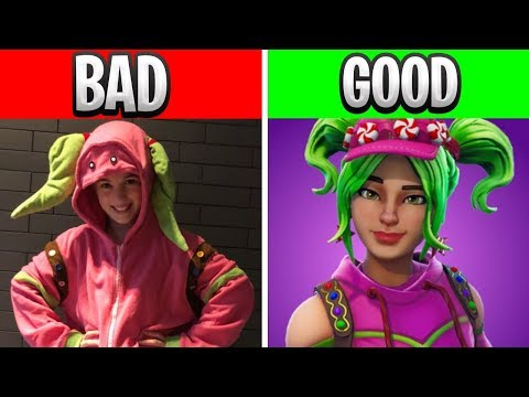 Why YOU shouldn't be CAUGHT wearing these Fortnite costumes.. (Fortnite Halloween Costumes)