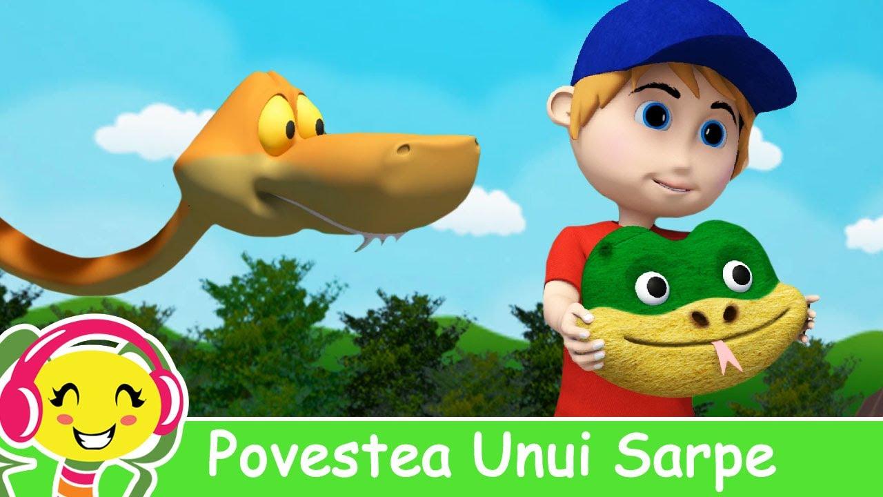 Povestea Unui Sarpe - Cantece Pentru Copii - CanteceGradinita.ro
