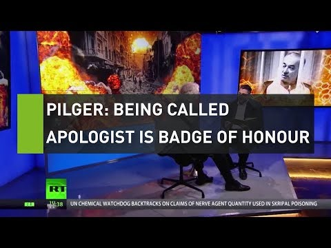 Pilger: Being called an apologist is a badge of honour