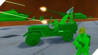 БИТВА ИГРУШЕЧНЫХ СОЛДАТ НА КУХНЕ - Attack on Toys Война игрушек солдатиков