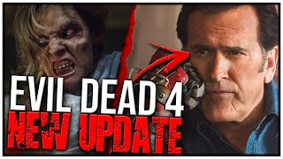 Bruce Campbell Reveals NEW Information on EVIL DEAD 4...