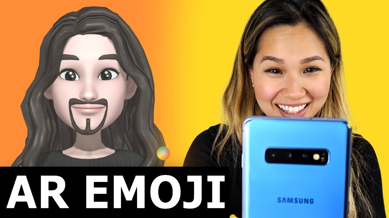 The NEW AR Emoji - Samsung Galaxy S10+ Demo