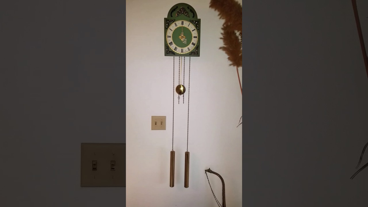 Junghans weight driven wall clock youtube junghans weight driven wall clock amipublicfo Images