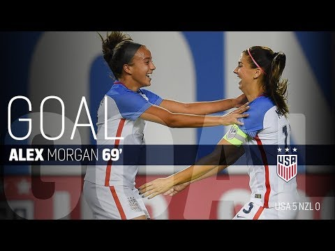 WNT vs. New Zealand: Alex Morgan Second Goal - Sept. 19, 2017