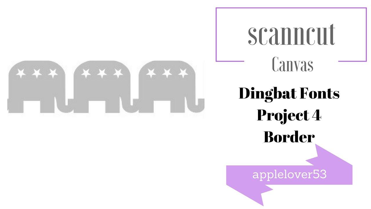 Elephant Dingbat Dingbat Fonts Project ...
