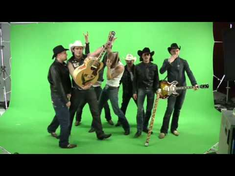 The Boss Hoss - Ca Plane Pour Moi - making of music video