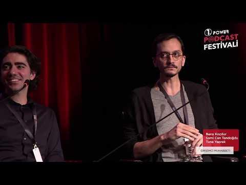 Girişimci Muhabbeti Ekibi Podcast Festivali Sahnesinde