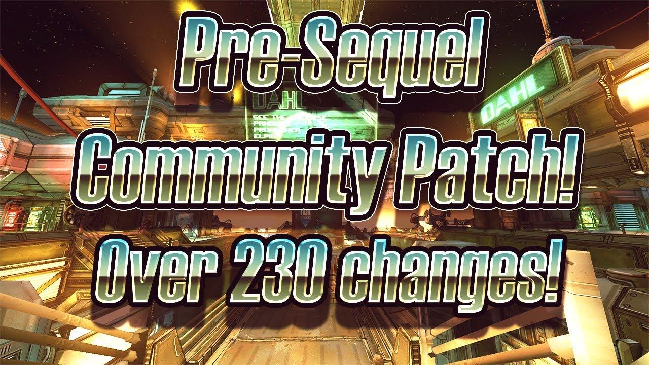 Borderlands Pre-Sequel's Unofficial Community Patch! Over 230 Changes!