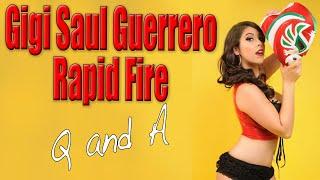Gigi Saul Guerrero Rapid Fire Q and A | Scream Queen Stream