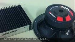Unboxing Old School Car Audio Gear - Part 3 - Orion XTR8 & Linear Power 652 amp