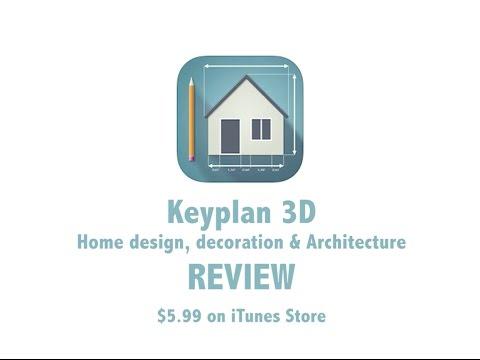 Keyplan 3D IPad App   REVIEW