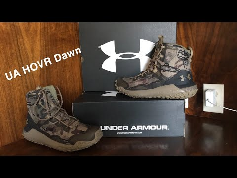 Under Armour HOVR Dawn Hunting Boots #2 Follow Up