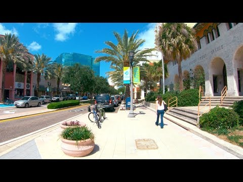 Clearwater, Florida | Downtown - Walking Tour