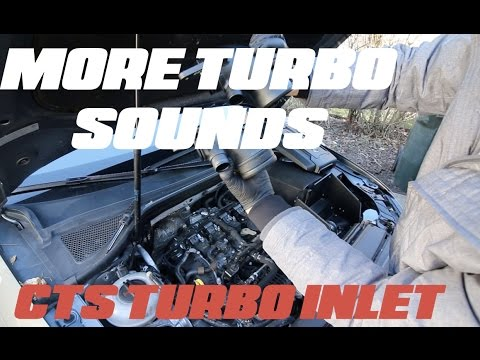 2015 Audi A3/S3   CTS turbo inlet pipe install and first thoughts