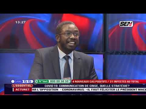 Informations Coronavirus  : Momar Ndiongue dit tout dans l'e