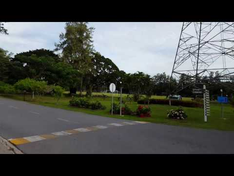 Bicycle ride in Asian Institute of Technology, Thailand