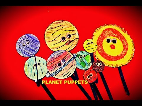 Learning about the Solar System by making Planet Puppets