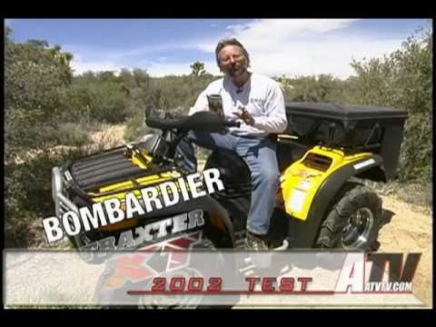 ATV Television - 2002 Bombardier Traxter 500 XT Test