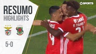 Highlights   Resumo: Benfica 5-0 Paços de Ferreira (Liga 19/20 #1)