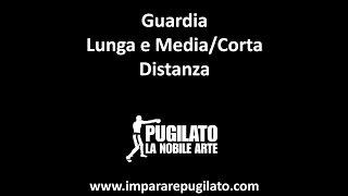 La Guardia del Pugilato - Lunga e Media/Corta Distanza - www.impararepugilato.com - Simone Bianchi