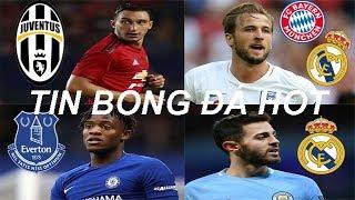 Tin bóng đá|Chuyển nhượng 21/01|Real rút ruột Man City|MU cho Juve mượn Darmian Barca trả giá đắt