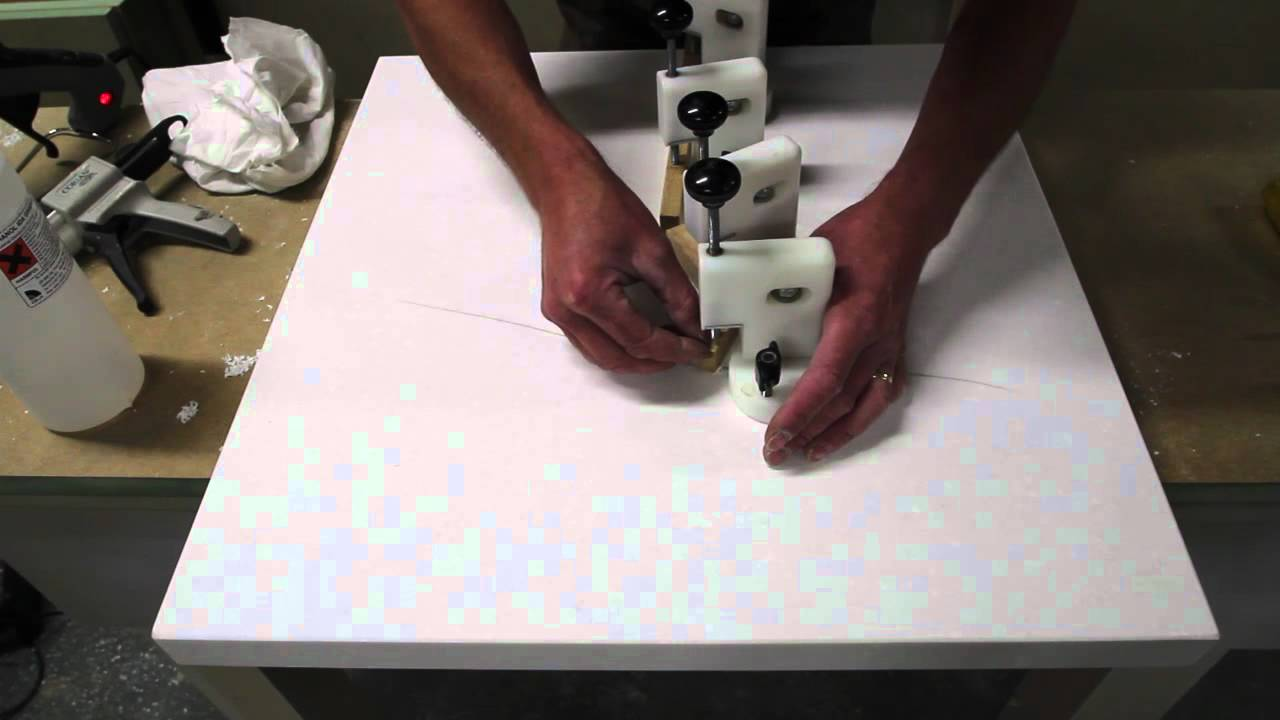 Corian Worktop Repair   YouTube